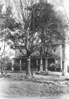 The Lumpkin family home in Oglethorpe County, near Lexington, Georgia, built c. 1790, after the family migrated from King and Queen Courthouse, Virginia, in 1784. Courtesy of the Southern Historical Collection, University of North Carolina at Chapel Hill.