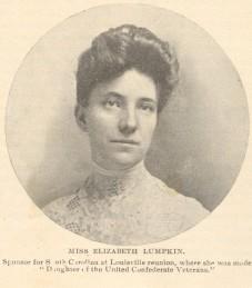 Elizabeth Elliott Lumpkin as Lost Cause orator, Confederate Veteran, 1905. Courtesy of the David M. Rubenstein Rare Book and Manuscript Library, Duke University.