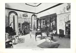 """Oriental Parlor,"" Brenau College, Brenau Bulletin, April 1913. Courtesy of Brenau University, Gainesville, Georgia."