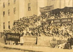 Students from across the South gathered at the YMCA's Blue Ridge Assembly, 1920. Courtesy of the YMCA Blue Ridge Assembly Archives.