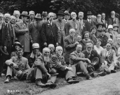 United Confederate Veterans meeting at Elizabeth Lumpkin Glenn's home in the Montford neighborhood, Asheville, North Carolina, c 1915-1926. Courtesy of Katherine Glenn Kent.