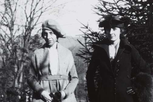 Katharine Du Pre Lumpkin and Grace Lumpkin in winter dress, late 1920s-early 1930s. Courtesy of the Southern Historical Collection, The Wilson Library, University of North Carolina at Chapel Hill.
